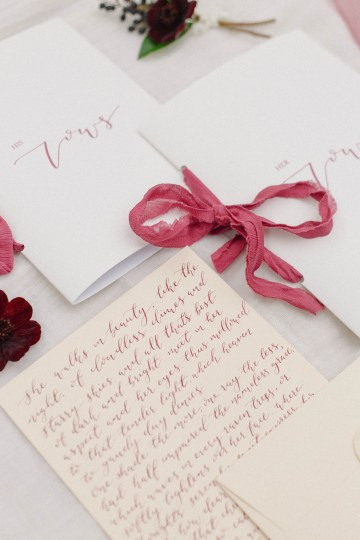 Elegant Berry and Cherry Red Wedding Inspiration – Claire Graham Photography 26