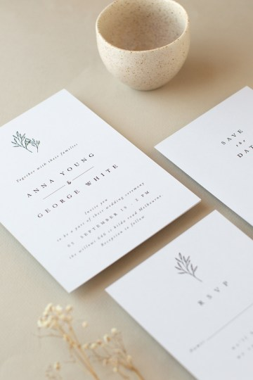 Gorgeous Custom Wedding Invitations By Paperlust 10