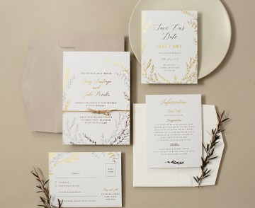 Gorgeous Custom Wedding Invitations By Paperlust 17