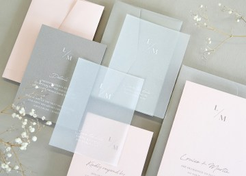 Gorgeous Custom Wedding Invitations By Paperlust 3
