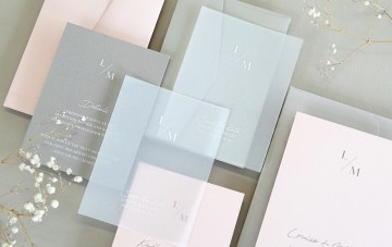 Gorgeous Custom Wedding Invitations By Paperlust