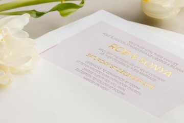 Gorgeous Custom Wedding Invitations By Paperlust 7