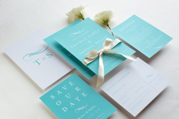 Gorgeous Custom Wedding Invitations By Paperlust 8