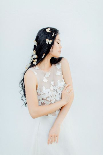 Pretty Butterfly Inspired Wedding Ideas – Anja Schneemann Photography 49