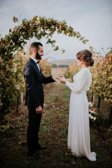 Romantic Vintage Italian Winery Wedding Inspiration – Giulia Santarelli 27