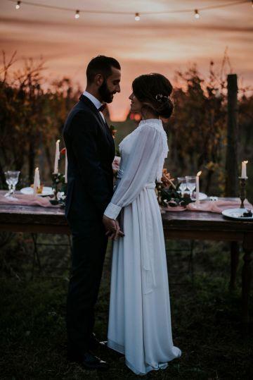 Romantic Vintage Italian Winery Wedding Inspiration – Giulia Santarelli 43