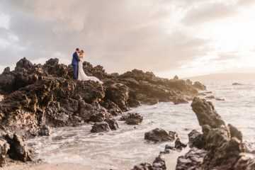 Tropical Maui Lava Field Wedding – Marlayna Photography 11