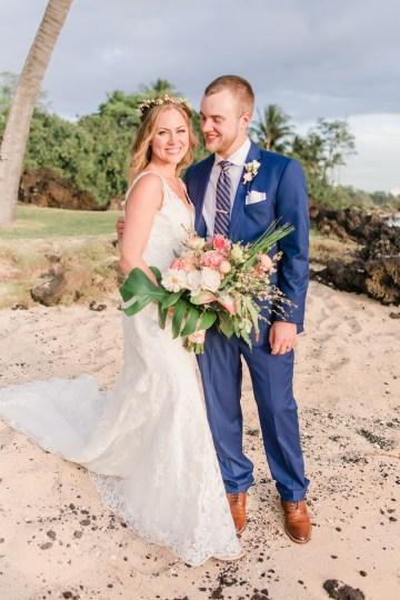 Tropical Maui Lava Field Wedding – Marlayna Photography 51