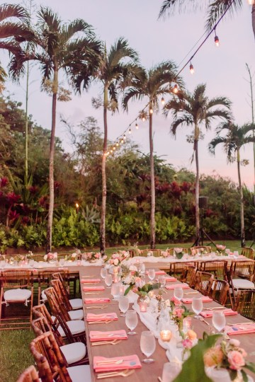 Tropical Maui Lava Field Wedding – Marlayna Photography 60