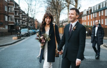 Festive & Chic London Town Hall Wedding