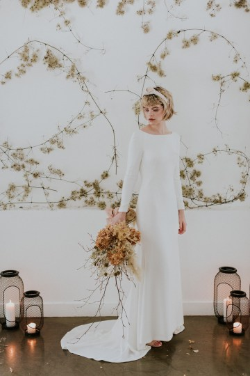 Dried Florals and Modern Minimalistic Wedding Inspiration – Maja Tsolo Photography 29