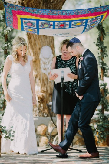 Colorful Boho Palm Springs Jewish Wedding – Lets Frolic Together 29