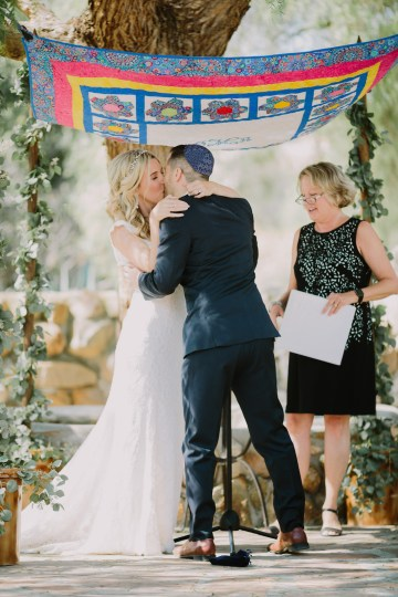 Colorful Boho Palm Springs Jewish Wedding – Lets Frolic Together 30