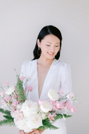 Modern Fashion-Forward Black White and Pink Greek Wedding Inspiration – Panos Demiropoulos 17