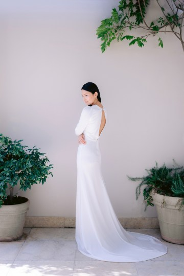 Modern Fashion-Forward Black White and Pink Greek Wedding Inspiration – Panos Demiropoulos 19