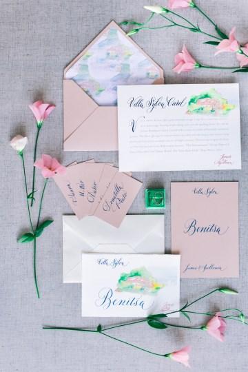 Modern Fashion-Forward Black White and Pink Greek Wedding Inspiration – Panos Demiropoulos 7