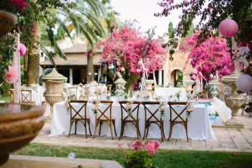 Posh Mallorca Pool Party Wedding at a Rustic Spanish Villa – Sandra Manas 51