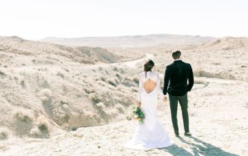 Desert Moon Wedding Inspiration