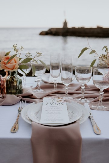 Rose Gold and Copper Cinque Terre Fall Wedding Inspiration – Di Luce e d Ombra – Greta Betton Wedding Planner 20