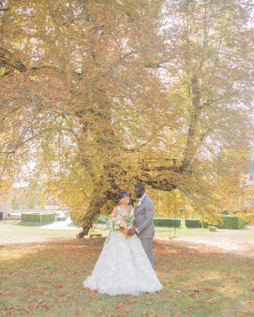 Autumn French Chateau Peach Wedding Inspiration – Szu Designs 21