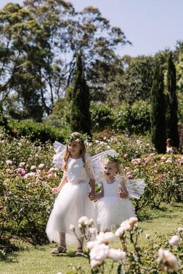 Chic Australian Garden Wedding with A Sparkling Wedding Dress – David Campbell Imagery 13