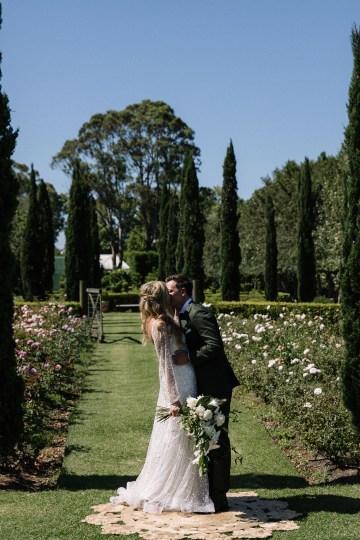 Chic Australian Garden Wedding with A Sparkling Wedding Dress – David Campbell Imagery 16