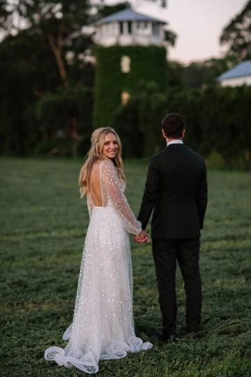Chic Australian Garden Wedding with A Sparkling Wedding Dress – David Campbell Imagery 21