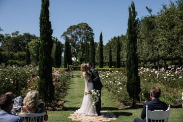 Chic Australian Garden Wedding with A Sparkling Wedding Dress – David Campbell Imagery 3
