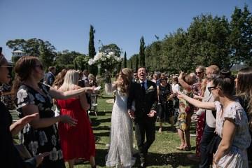 Chic Australian Garden Wedding with A Sparkling Wedding Dress – David Campbell Imagery 4