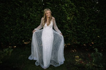 Chic Australian Garden Wedding with A Sparkling Wedding Dress – David Campbell Imagery 5
