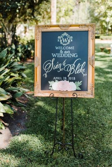 Elegant Blush Southern Plantation Wedding – Molliner Photography 22
