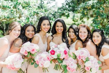 Elegant Blush Southern Plantation Wedding – Molliner Photography 46