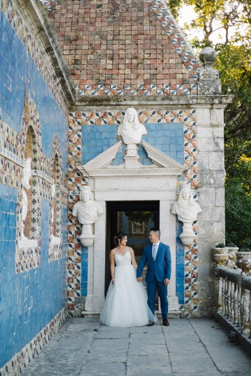 Historical Blue-tiled Palace Destination Wedding in Portugal – Jesus Caballero Photography 15