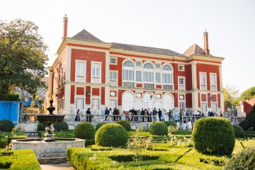 Historical Blue-tiled Palace Destination Wedding in Portugal – Jesus Caballero Photography 35