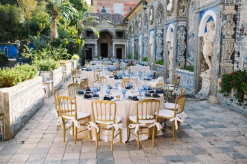 Historical Blue-tiled Palace Destination Wedding in Portugal – Jesus Caballero Photography 36