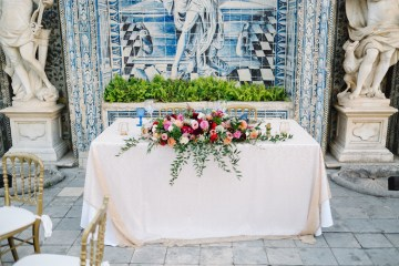 Historical Blue-tiled Palace Destination Wedding in Portugal – Jesus Caballero Photography 41