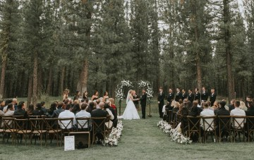A Stunning Forest Wedding At Our Dream Mountain Venue