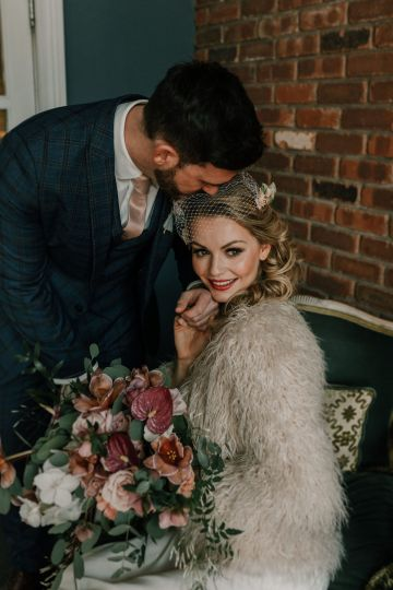 Vintage Glamour Wedding Inspiration in Manchester – Gail Secker Photography 13