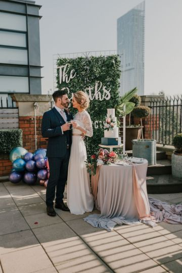 Vintage Glamour Wedding Inspiration in Manchester – Gail Secker Photography 31
