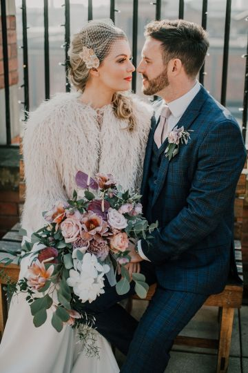 Vintage Glamour Wedding Inspiration in Manchester – Gail Secker Photography 48