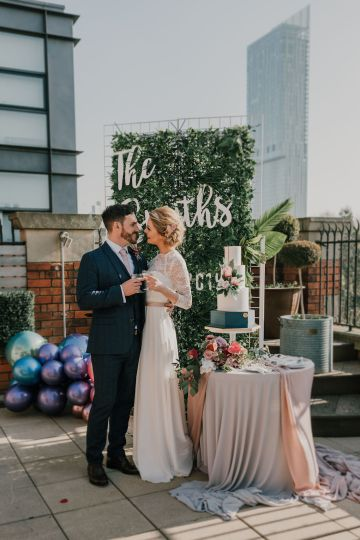Vintage Glamour Wedding Inspiration in Manchester – Gail Secker Photography 53