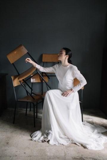 Artistic Avant-Garde Spanish Wedding Inspiration – Vanessa Illi 39