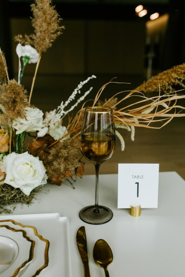 Chic Fall Loft Wedding Inspiration from Toronto – Shannon Robbins Photography – June Bloom Events 32
