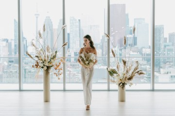 Chic Fall Loft Wedding Inspiration from Toronto – Shannon Robbins Photography – June Bloom Events 6