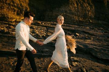 Gorgeous Coastal Ireland Wedding Inspiration – White Cat Studio – Petal and Twine 52