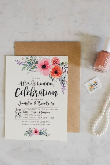 Natural Stateside After-Wedding Reception – Ayres Photography 9