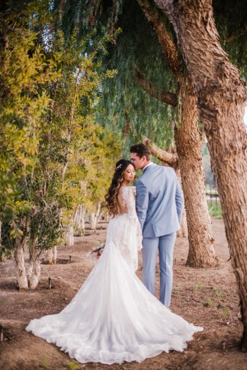 Pink Boho Farm Wedding Inspiration filled with Pretty Details – Carrie McCluskey Photo 17