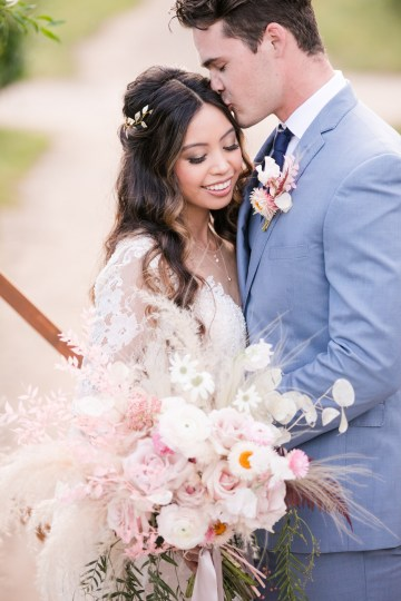 Pink Boho Farm Wedding Inspiration filled with Pretty Details – Carrie McCluskey Photo 2