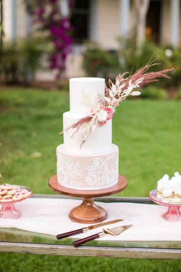 Pink Boho Farm Wedding Inspiration filled with Pretty Details – Carrie McCluskey Photo 20
