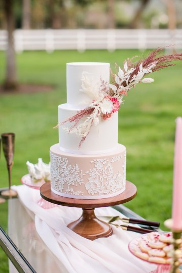 Pink Boho Farm Wedding Inspiration filled with Pretty Details – Carrie McCluskey Photo 23